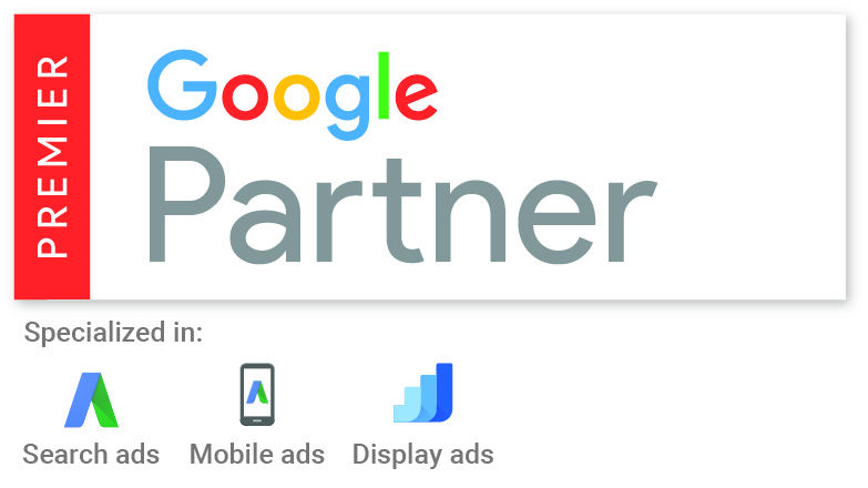 Premier Google Partner image - Amura Marketing Technologies